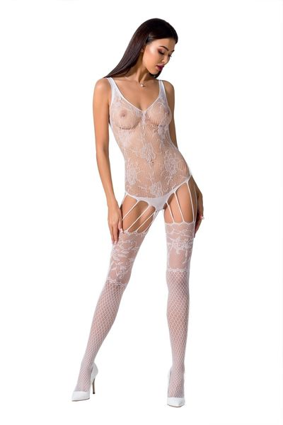 Bodystocking weiß S/L
