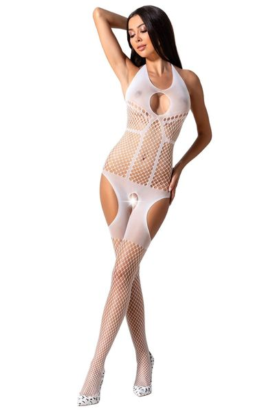 Bodystocking ouvert weiß S/L